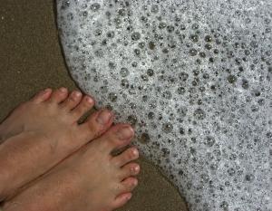 Gombás láb kezelése